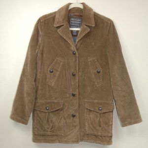Abercrombie & Fitch Fleece Lined Corduroy Jacket